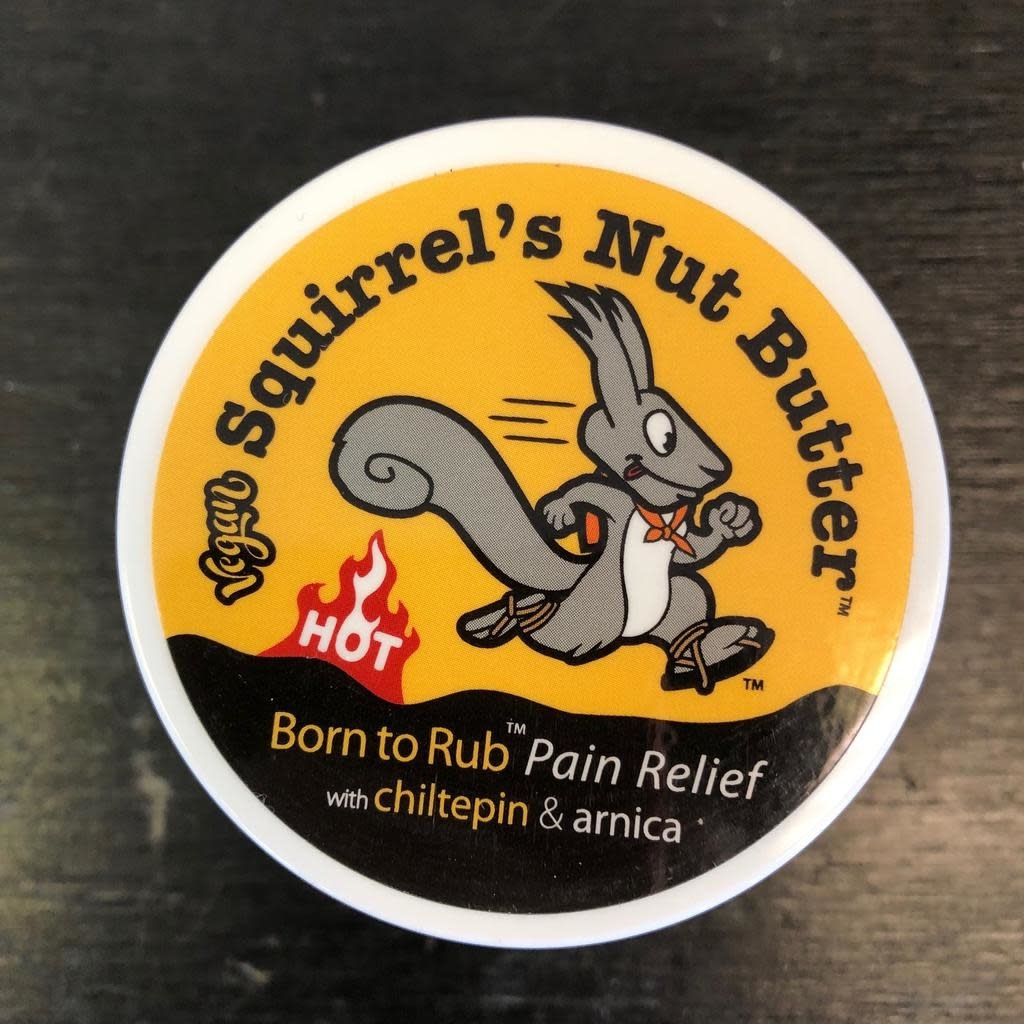 Squirrels Nut Butter SNB Born To Rub 2.0oz