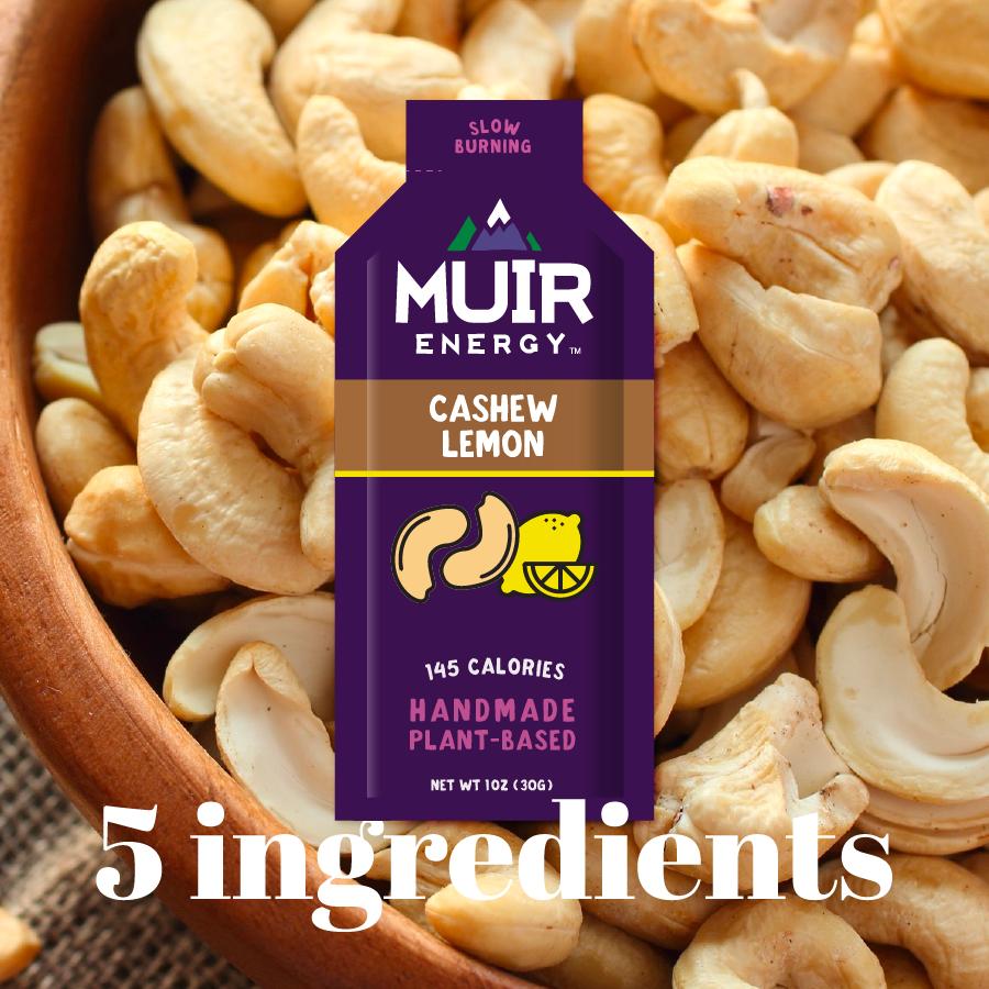 Muir Energy Muir Energy Cashew Lemon