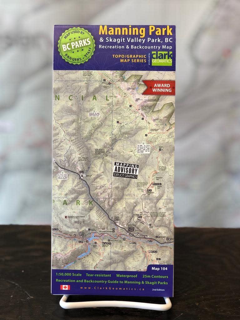 Trail Ventures Manning/Skagit Park Map 2nd Ed.