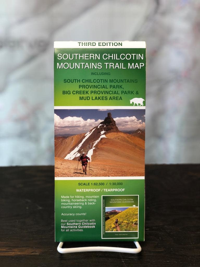 Trail Ventures Trail Ventures Southern Chilcotin Map