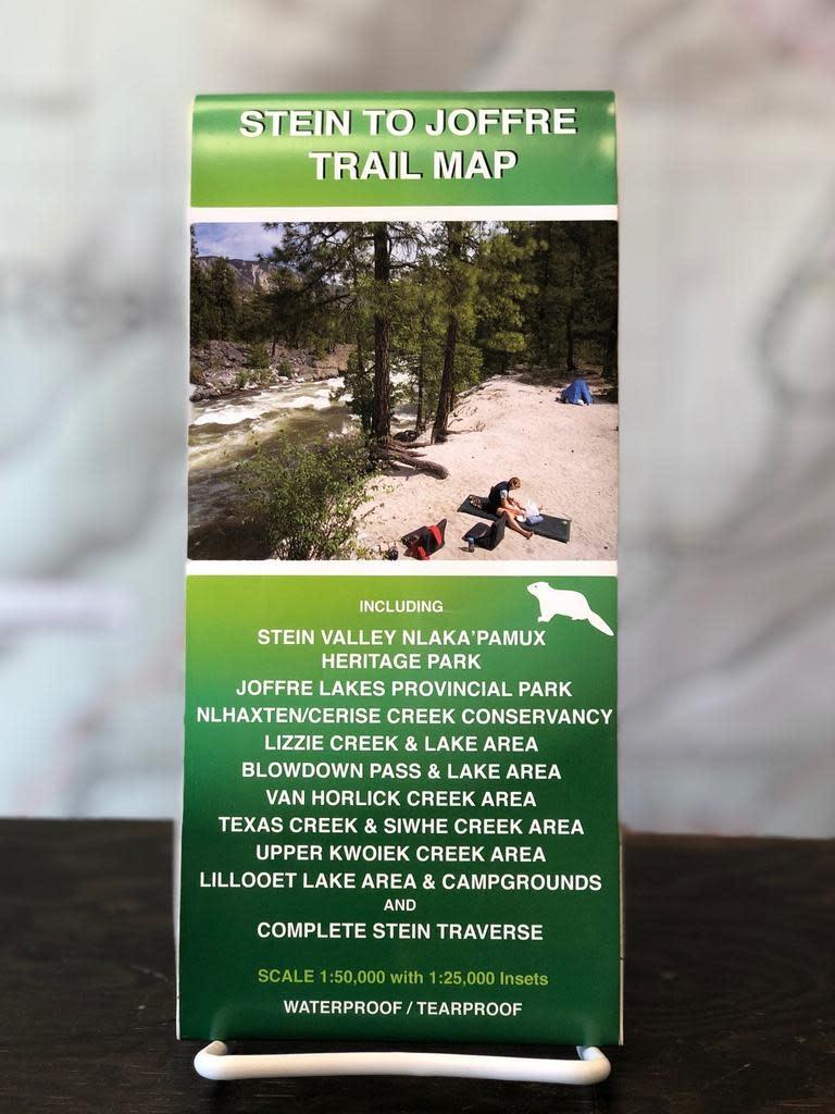 Trail Ventures Trail Ventures Stein-Joffre Map