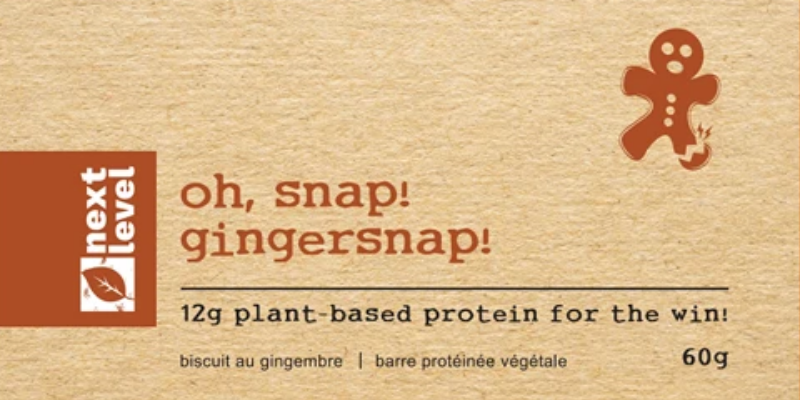 Next Level Foods Next Level Bar Gingersnap