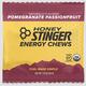 Honey Stinger HoneyStinger Chews Pomegranate Passionfruit