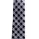 Pineapple Palaka Palaka Black: Modern Necktie