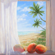 Carol Collette Good Morning, 16x20 Gallery Wrap Giclee on Canvas