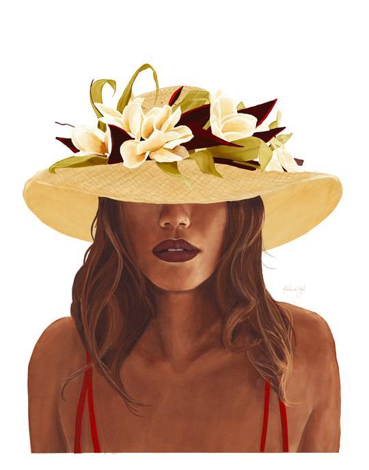 Aloha de Mele AUNTY, 16X20 MATTED PRINT
