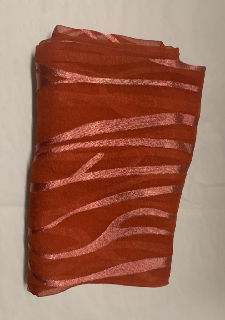 Hana Lima Hand Dyes Hand Dyed Scarf (no tassles) - Red Vines
