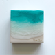 """Sarah Caudle ORIGINAL RESIN PAINTING - FIND A WAY 7, 6""""X6"""" UNFRAMED"""