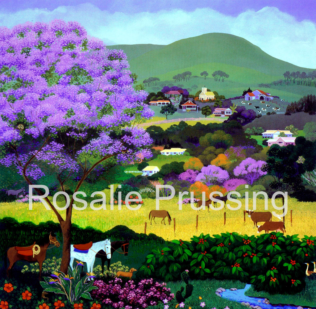 Rosalie Prussing SM PRINT: UPCOUNTRY HAWAII 460/750