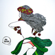 "Kris Goto Ho Brah! 11""x14"" Matted Art Print"