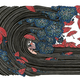 "Kris Goto Umbrella Party, 11""x14"" Matted Art Print"