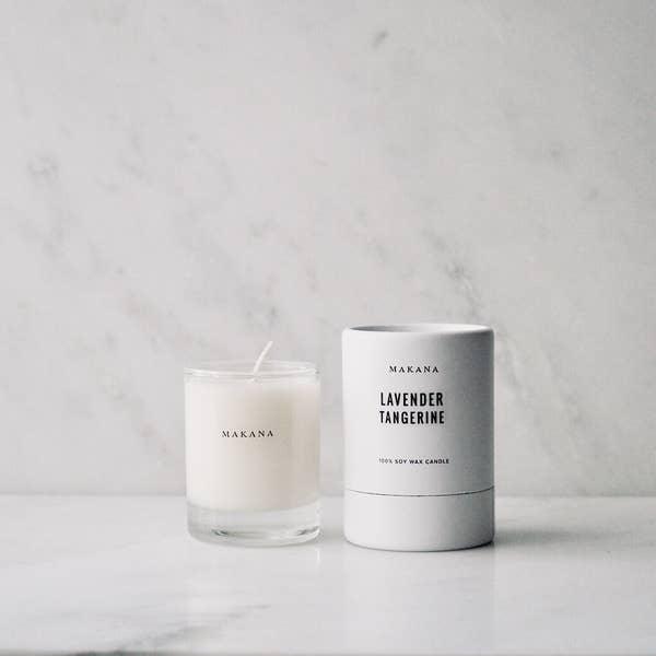 Makana Lavender Tangerine - Petite Candle 3 oz