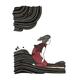 """Kris Goto Paddle Paddle, 11""""x14"""" Matted Art Print"""