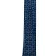 Pineapple Palaka Honu Blue v3 SLIM: Modern Silk Necktie