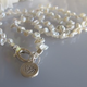 """MiNei Designs #2310 16"""" Grey Freshwater Pearl Necklace"""