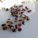 "MiNei Designs #2314  32"" Teardrop Garnet Necklace"