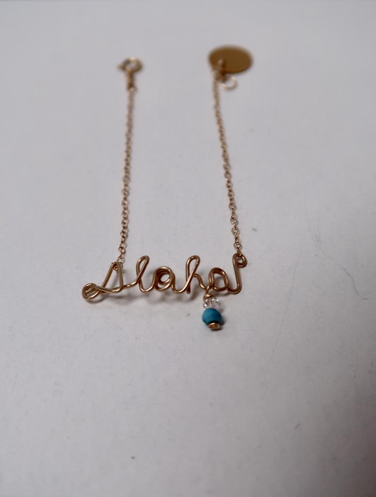Leinai'a LLC Lettered Bracelets