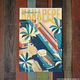 Nick Kuchar 12X18 RETRO TRAVEL PRINT: HANAPEPE TOWN