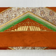 Leina Aonuma ORANGE/GOLD/SILVER/GREEN STRAIGHT OBI CLUTCH