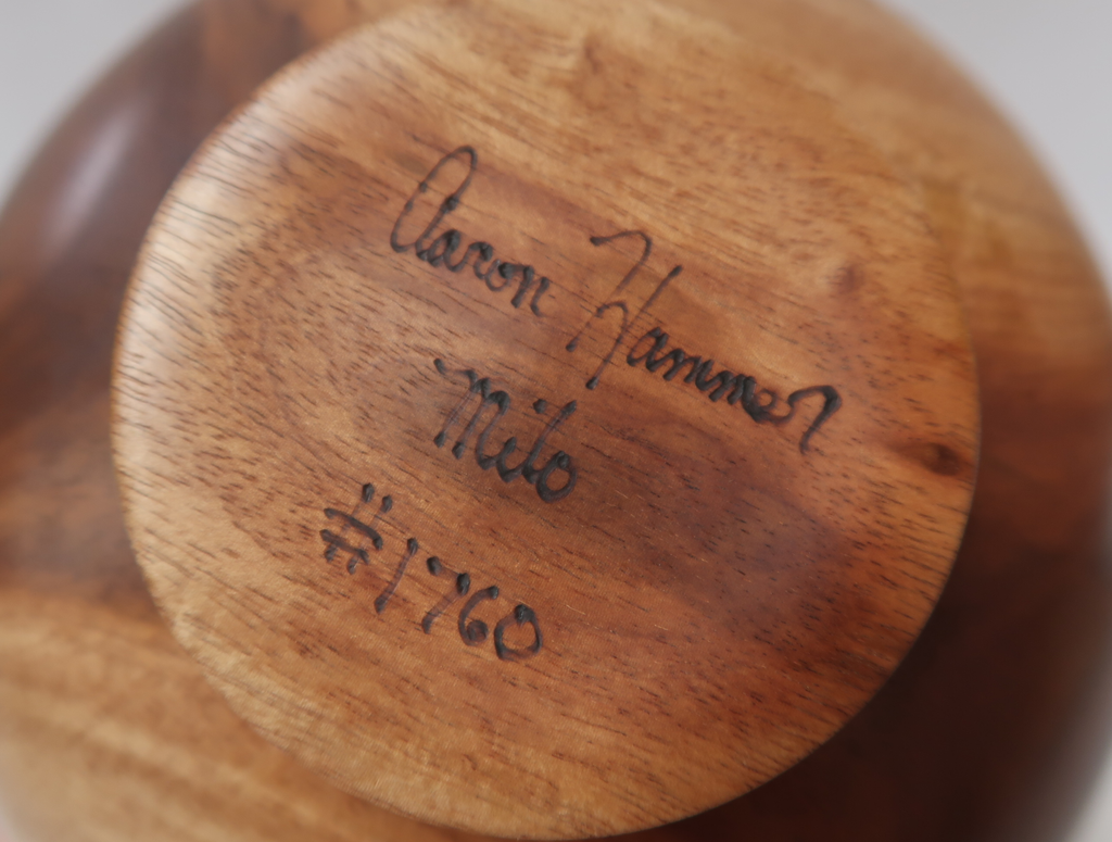 Aaron Hammer 1760 MILO BOWL