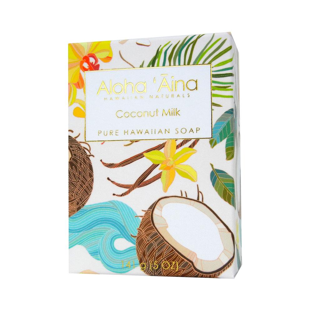 Maui Soap Company Hawaiian Aromatherapy Pure Soap – Coconut Milk