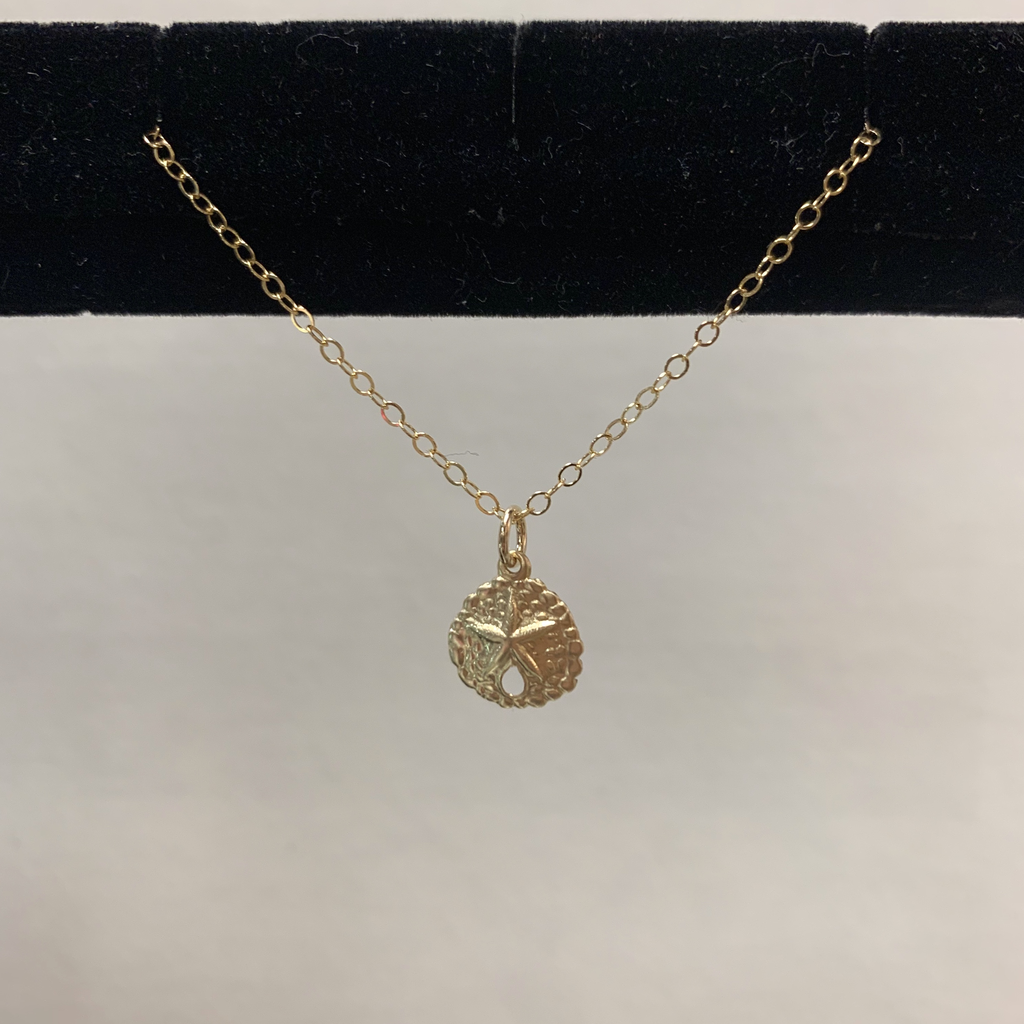 Rose Wong GF Shell Charm Necklace