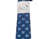 Pineapple Palaka Honu Big Blue: Modern Necktie