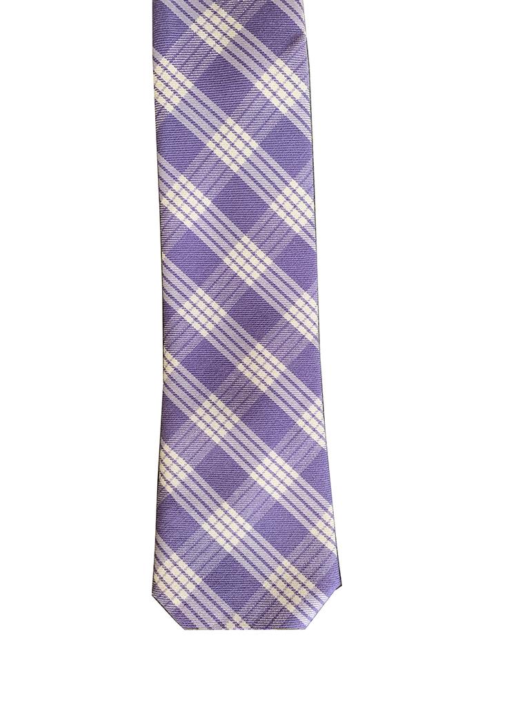 Pineapple Palaka Palaka Lavender: Modern Necktie