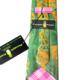 Pineapple Palaka Maile Ilima: Executive Silk Necktie