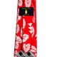Pineapple Palaka Red Kalo: Modern Silk Necktie