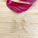 Lehualani EARRINGS: BIRD OF PARADISE (GOLD FILL)