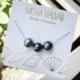 Misha Lam Triple Tahitian floating necklace 14kt GF
