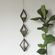 Savvie Studio AIR PLANT HANGER-TRIO WALNUT