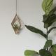 Savvie Studio AIR PLANT HANGER-DIAMOND MAPLE