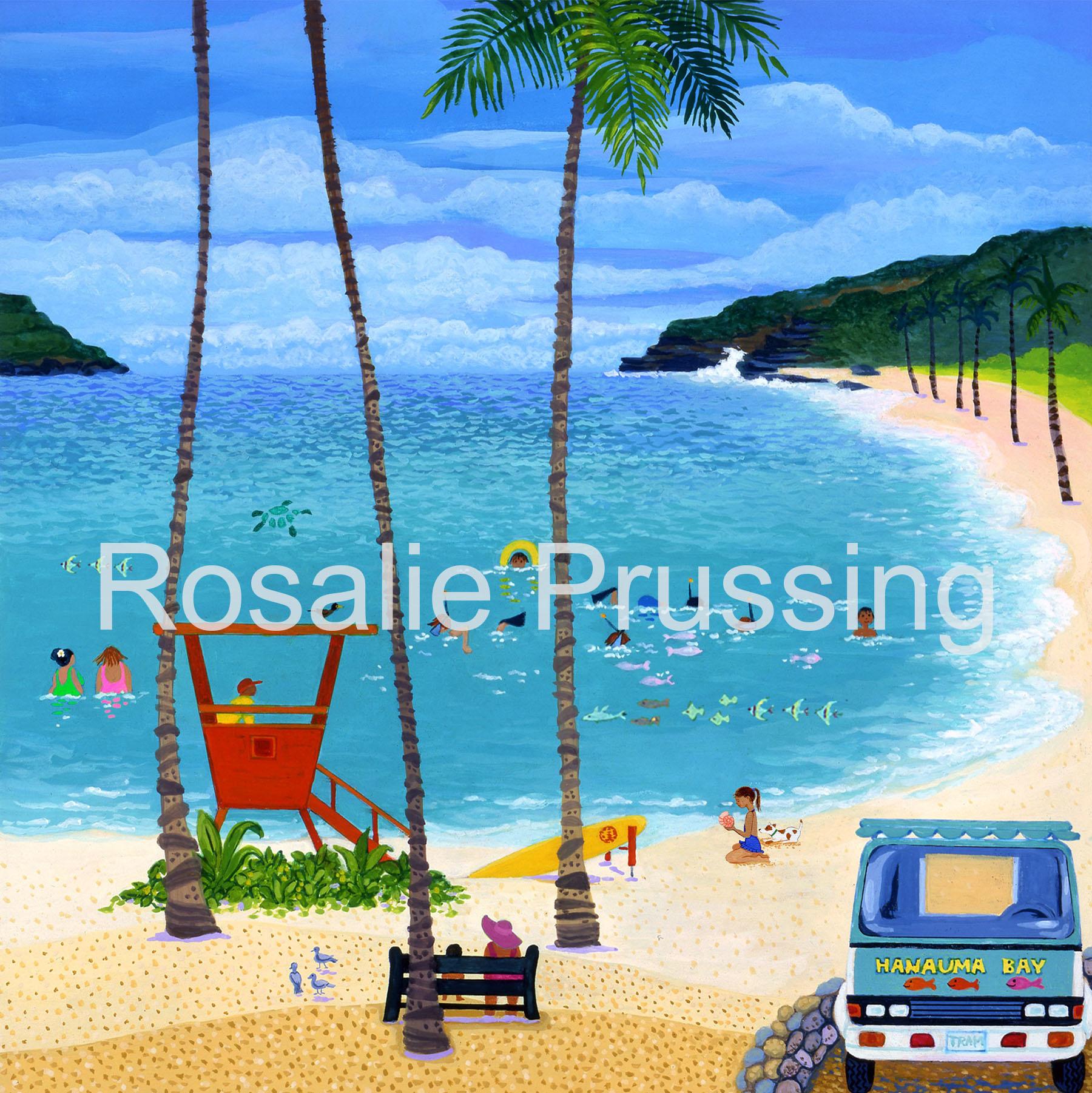 Rosalie Prussing LG PRINT: HANAUMA BAY 466/750