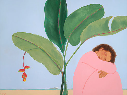 Pegge Hopper A CHOICE AFTERNOON, 8X10 PRINT ON PAPER WITH BACKING