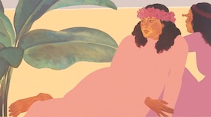 Pegge Hopper KAILUA NOON B, 8X10 PRINT ON PAPER WITH BACKING