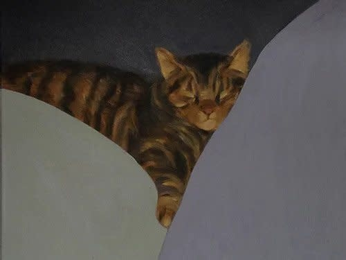 Pegge Hopper KITTY, 8X10 SIGNED PRINT ON PAPER WITH BACKING
