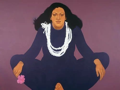 Pegge Hopper FIVE STRAND PIKAKE, 8X10  PRINT ON PAPER WITH BACKING
