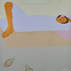 Pegge Hopper A SHORT NAP, 12X12 SIGNED PRINT ON PAPER WITH BACKING