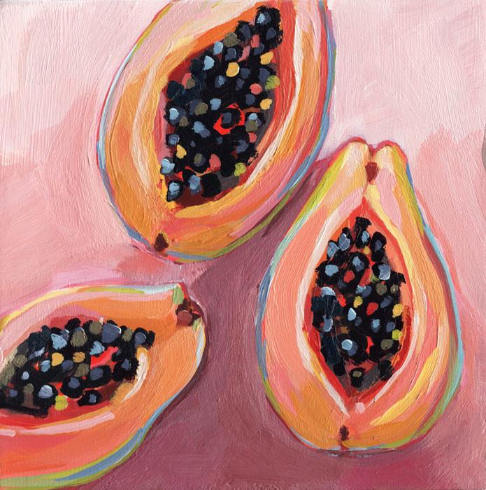 Almeda Art ART PRINT, 8X8: PINK POSSE