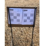 DOMINION OUTDOORS HEAVY DUTY TARGET STAND SET, FOR CARDBOARD/WOOD