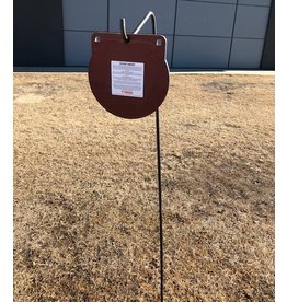 DOMINION OUTDOORS HEAVY DUTY SHEPHERD HOOK GONG TARGET STAND, TALL