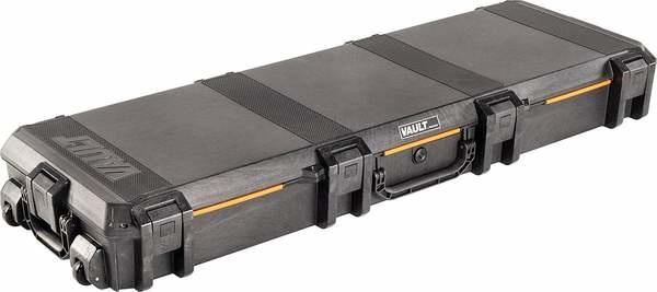 PELICAN PELICAN VAULT V800 DOUBLE RIFLE CASE, BLACK, W/ FOAM