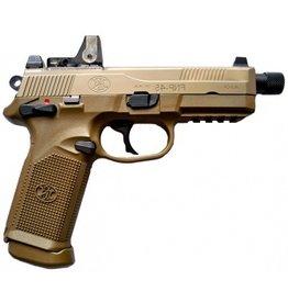 FN FN FNX-45T PISTOL, 45 ACP, FDE, W/ VORTEX VENOM RED DOT