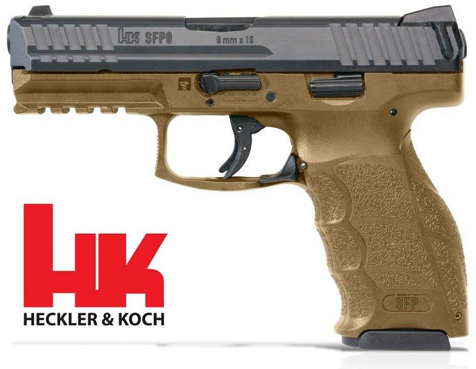 H&K H&K SFP9 PISTOL, 9MM, RAL8000