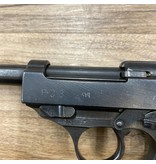 WALTHER WALTHER P38 PISTOL, 9MM, PRE-OWNED