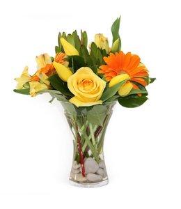 Cheery Vase
