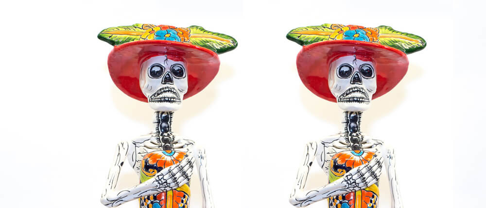 "La Calavera Catrina, or the ""Elegant Skull"""