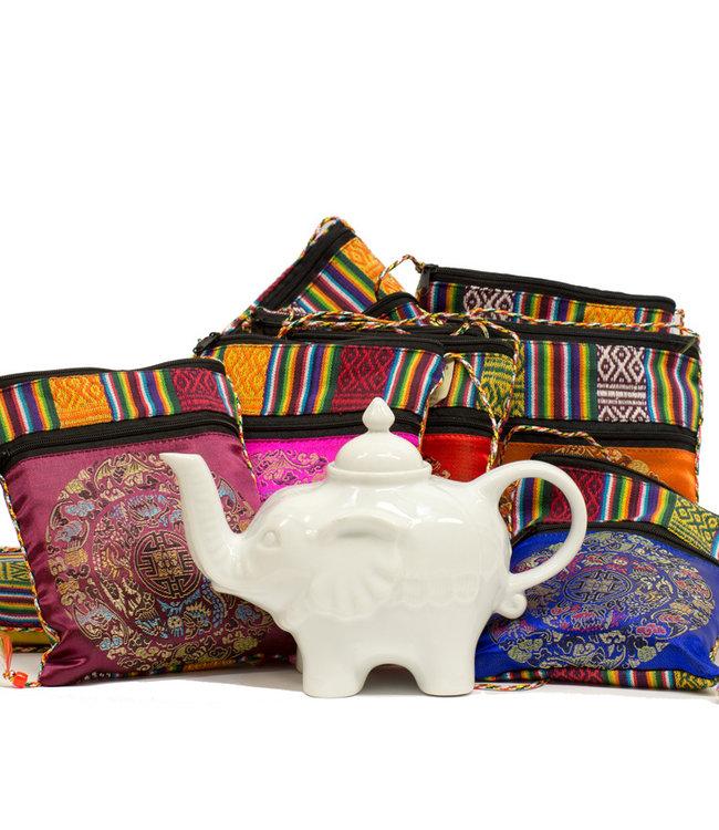 Teapot, Elephant White